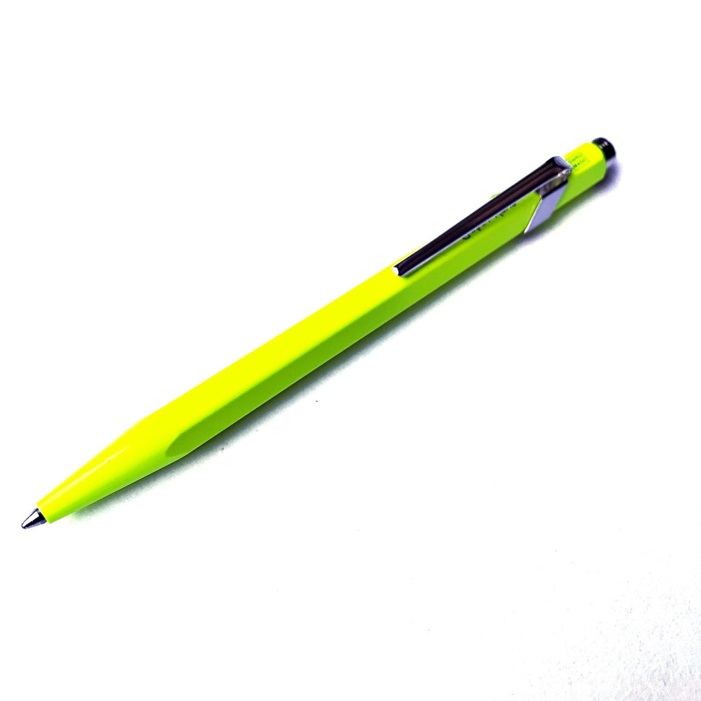 Neon Yellow, Metal Ballpoint pen