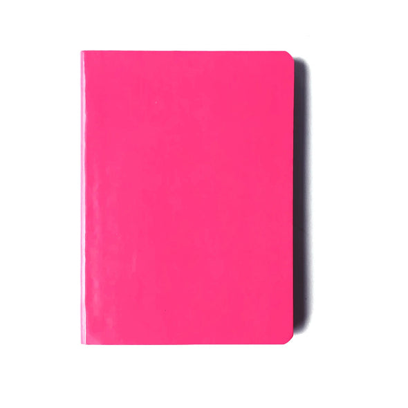 Neon Pink Bullet Journal Notebook