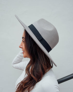 Panama Hat w/ Black