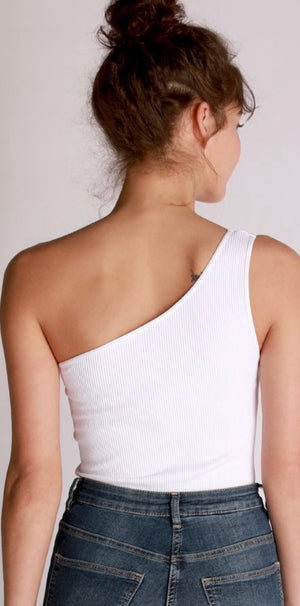 Greece One Shoulder Bodysuit