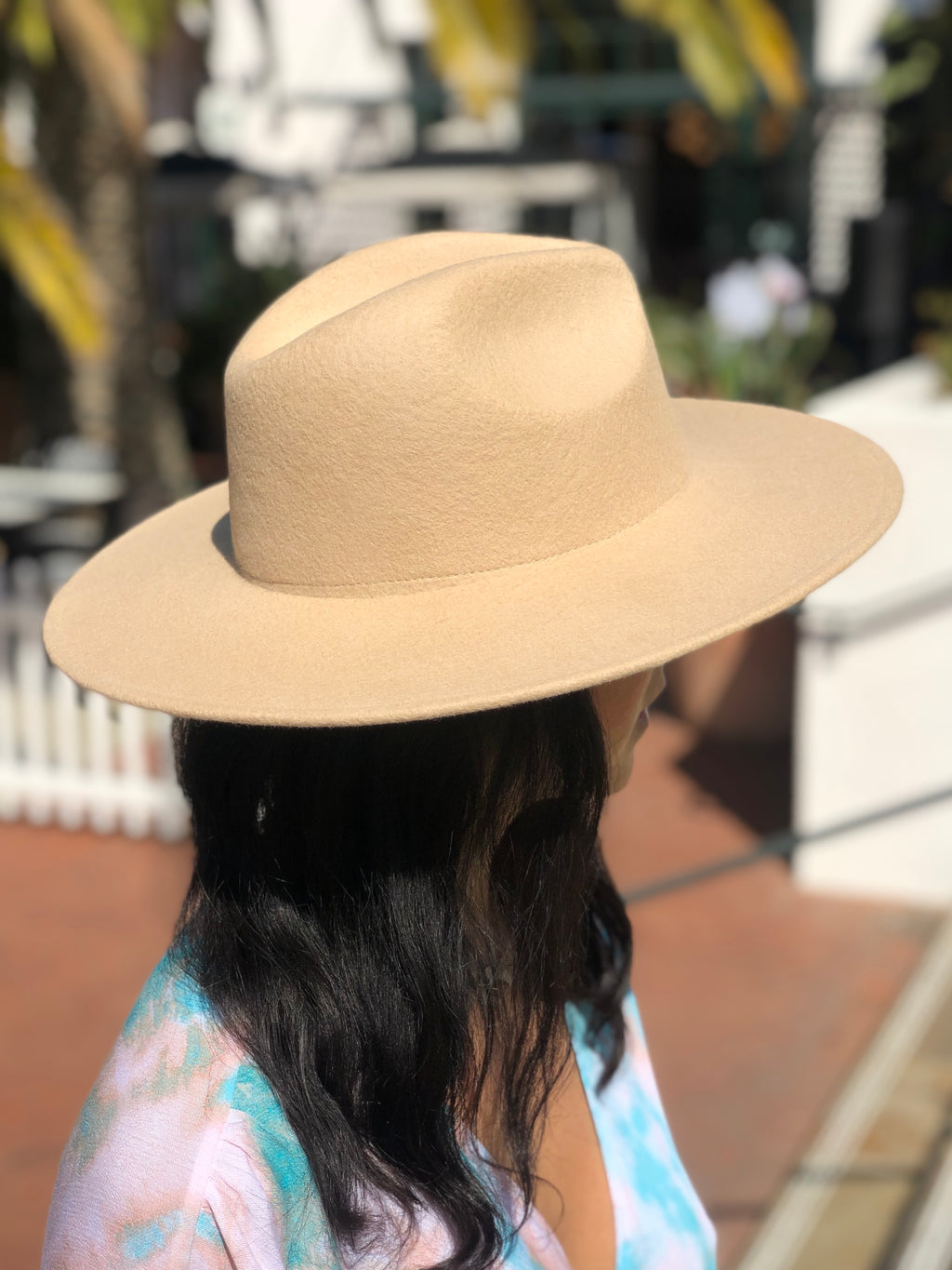 Tracy Panama Hat Beige