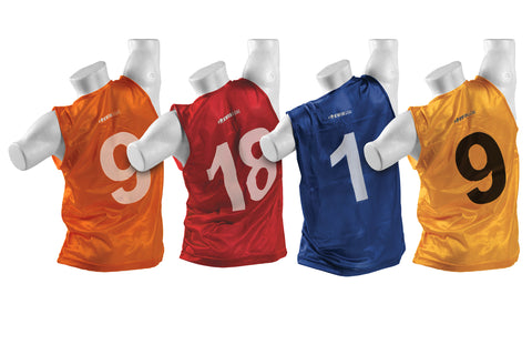 Kwik Goal Numbered Vest 1-18