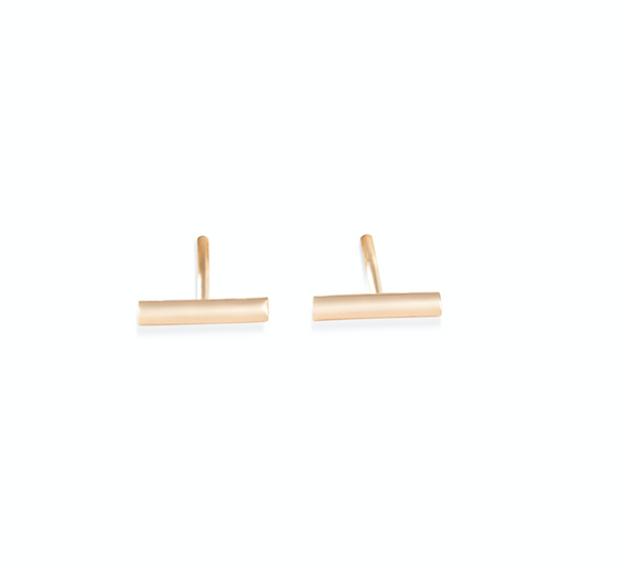 Gold strip studs