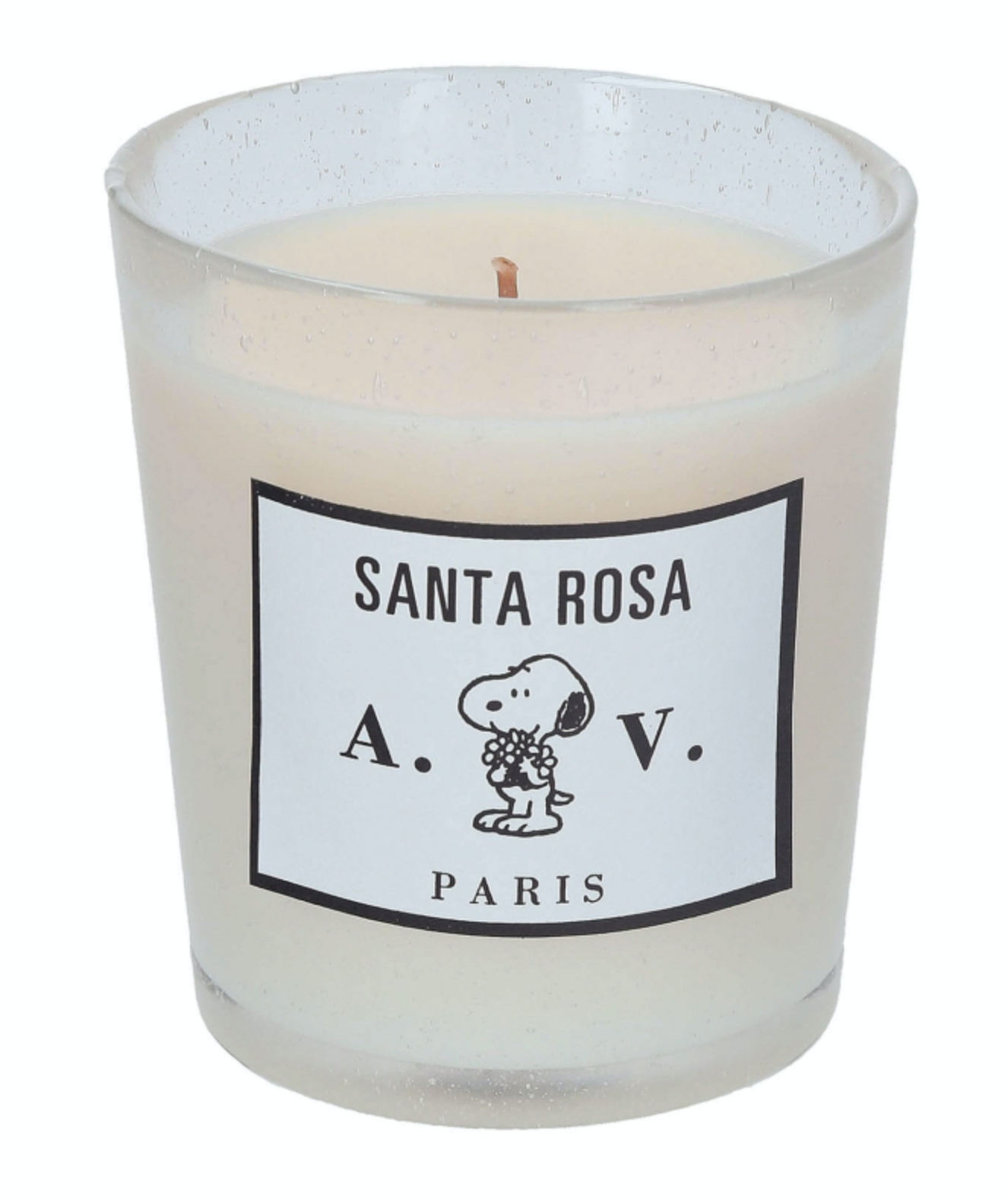Santa Rosa scented candle