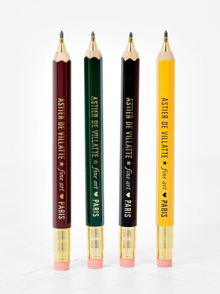Pencil Robusto Astier de Villatte, yellow