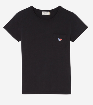 NEW tee TRICOLOUR FOX patch