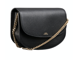 Sac Genève clutch on chain black