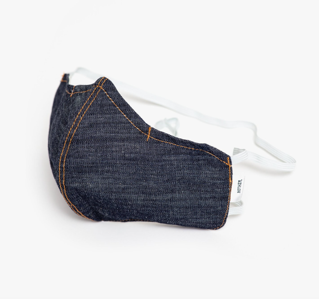 Mother adjustable denim face mask