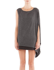 Suzy Short Sleeve Charcoal Black