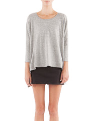 Shirley Long Sleeve Melange Black