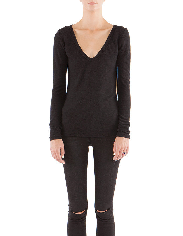 Diana Long Sleeve Real Black