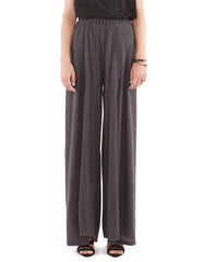 Addie Wide Pants Charcoal Black