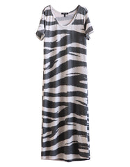 Capella Dress Zebra<br><font color=red><STRIKE>USD $152.00</strike></font>