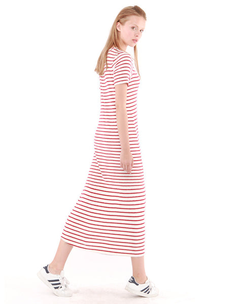 Capella Dress White/Red<br><font color=red><STRIKE>USD $152.00</strike></font>