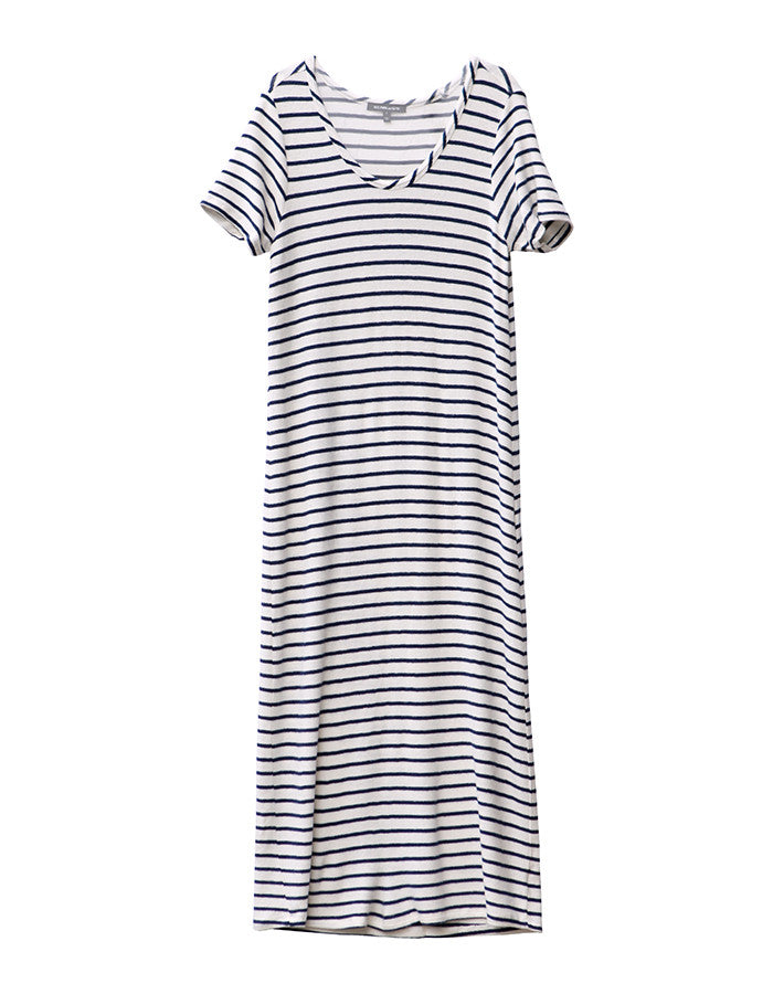 Capella Dress White/Navy<br><font color=red><STRIKE>USD $152.00</strike></font>