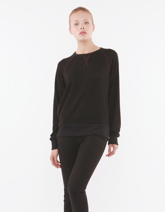 Daphne Sweatshirts Black<br><font color=red><STRIKE>USD $97.00</strike></font>