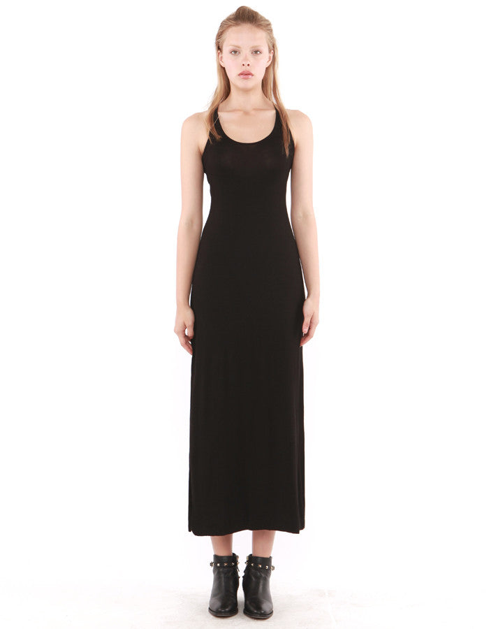 Deneb Maxi Dress Black<br><font color=red><STRIKE>USD $130.00</strike></font>