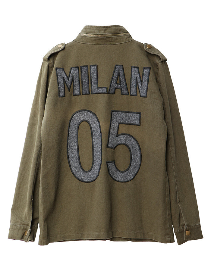 Gaia Military Jacket Milan