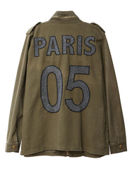 Gaia Military Jacket Paris