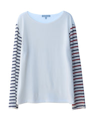 Nicole Long Sleeve Multi Stripe