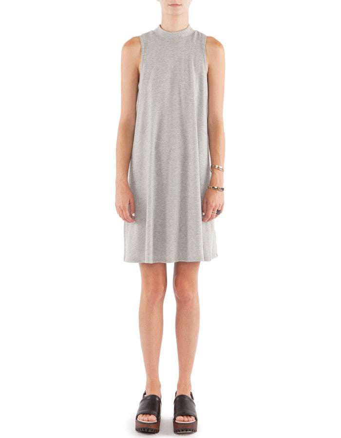 Heaven Tank Dress Heather Grey