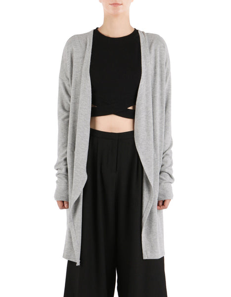 Noah Cardigan Heather Grey