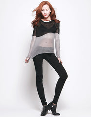 IO Sweater Black/Grey<br><font color=red><STRIKE>USD $105.00</strike></font>