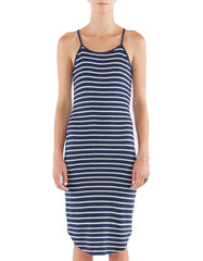 Jessie Dress Navy/White