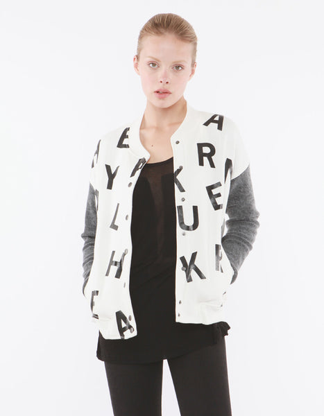 Juana Bomber Jacket Off White