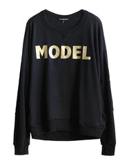 Model Sweatshirts Real Black