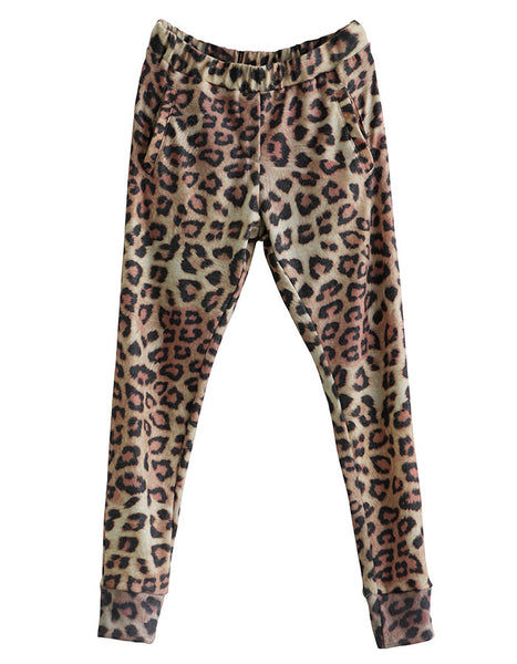 Julian Sweatpants Leopard<br><font color=red><STRIKE>USD $128.00</strike></font>