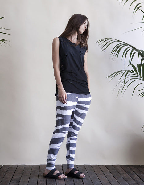 Andrea Sweatpants Zebra