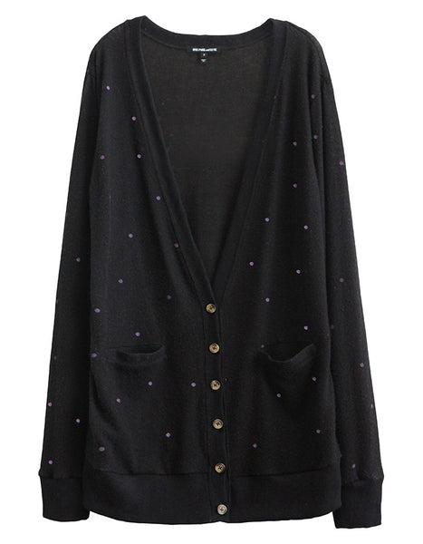 Reto Cardigan Black