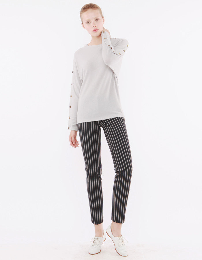 Lucifer Long Sleeve Grey<br><font color=red><STRIKE>USD $158.00</strike></font>