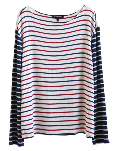 Neptune Long Sleeve Navy/Red/White<br><font color=red><STRIKE>USD $79.00</strike></font>