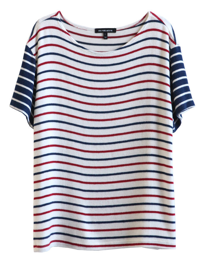 Neptune Short Sleeve Navy/Red/White<br><font color=red><STRIKE>USD $73.00</strike></font>