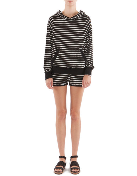 Nicky Shorts Black/White