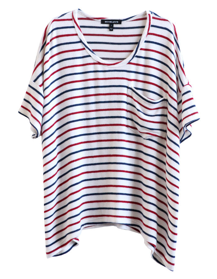Orbit Short Sleeve Navy/Red/White<br><font color=red><STRIKE>USD $108.00</strike></font>