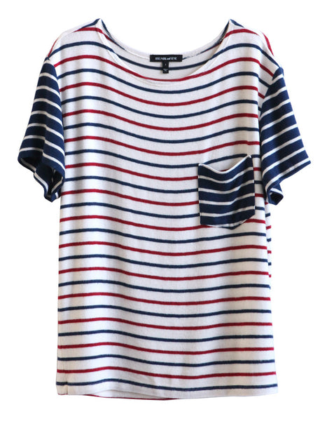 Pluto Short Sleeve Navy/Red/White<br><font color=red><STRIKE>USD $77.00</strike></font>