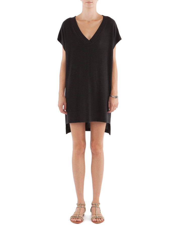 Parker Dress Real Black