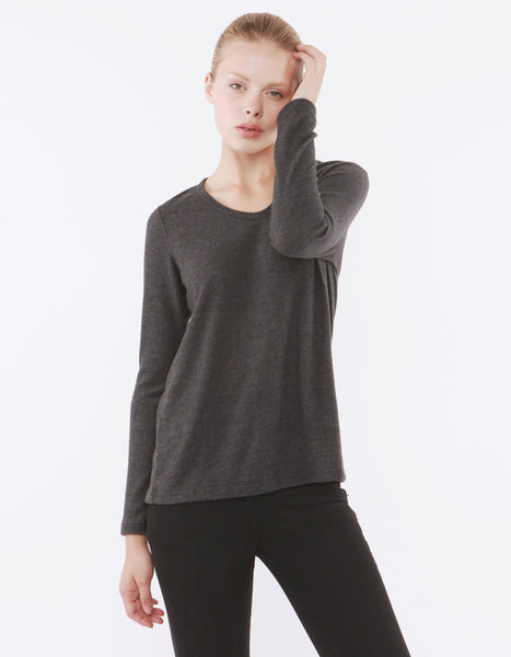 Saturn Long Sleeve Charcoal Black<br><font color=red><STRIKE>USD $73.00</strike></font>