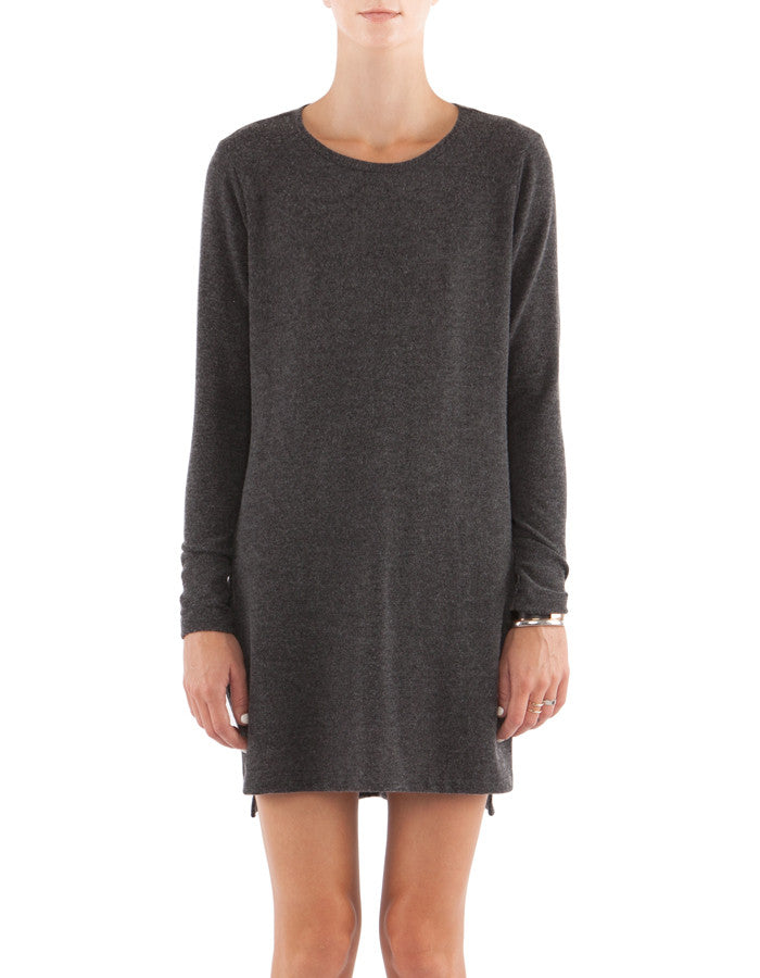 Sonia Long Sleeve Charcoal Black