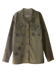 Stella Military Jacket Army Green