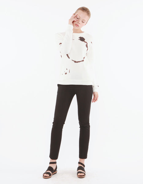 Trace Sweatshirts Off White<br><font color=red><STRIKE>USD $158.00</strike></font>