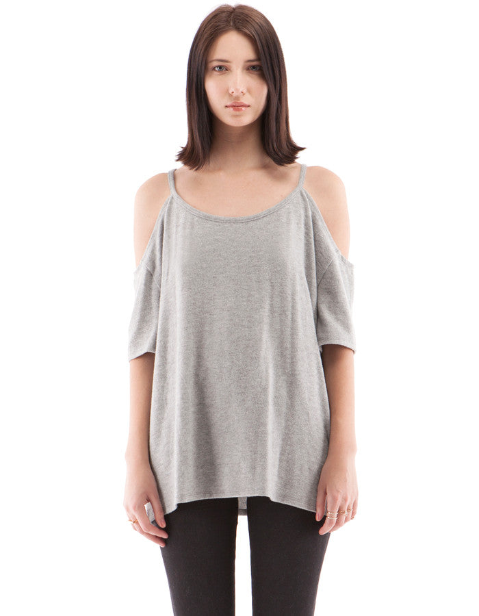 Camilla Short Sleeve Heather Grey