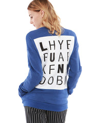 Crossword Sweatshirts Skydiver<br><font color=red><STRIKE>USD $158.00</strike></font>