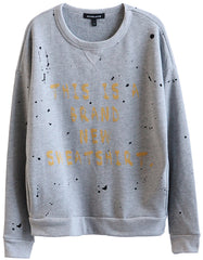 Kelly Sweatshirts Heather Grey<br><font color=red><STRIKE>USD $196.00</strike></font>