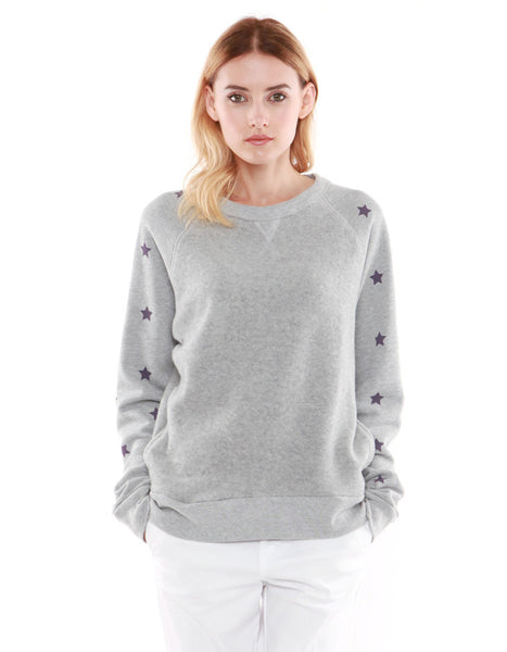 Hera Sweatshirts Heather Grey<br><font color=red><STRIKE>USD $158.00</strike></font>