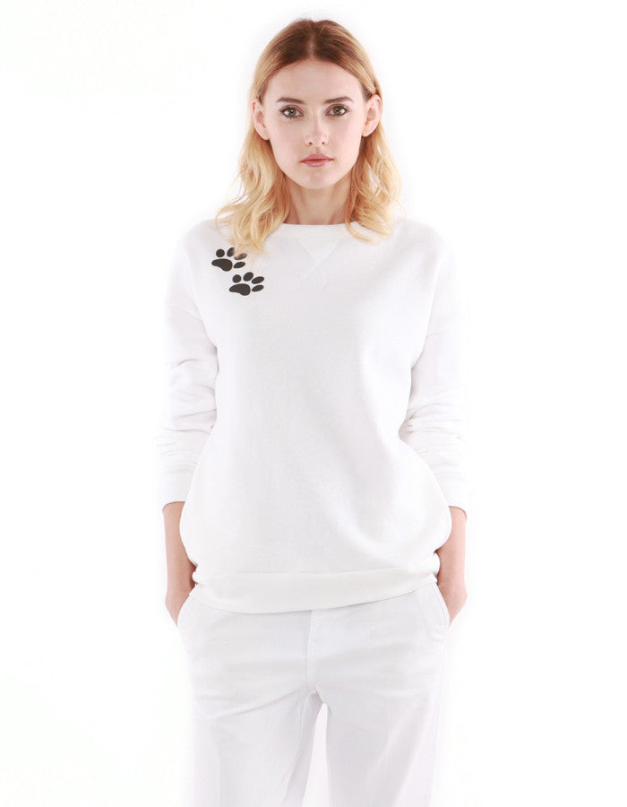Jeremie Sweatshirts Off White<br><font color=red><STRIKE>USD $158.00</strike></font>