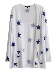 Juliet Star Cardigan White<br><font color=red><STRIKE>USD $108.00</strike></font>